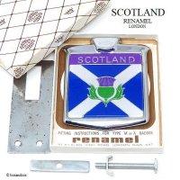 1960-70's SCOTLAND/スコットランド カーバッジ RENAMEL製 デッドストック BOX