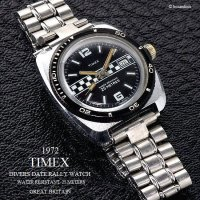 <img class='new_mark_img1' src='https://img.shop-pro.jp/img/new/icons13.gif' style='border:none;display:inline;margin:0px;padding:0px;width:auto;' />1972年 Vintage TIMEX  DIVERS DATE RALLY /英国 ビンテージ タイメックス ダイバーズ デイト ラリー 腕時計