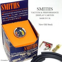 <img class='new_mark_img1' src='https://img.shop-pro.jp/img/new/icons13.gif' style='border:none;display:inline;margin:0px;padding:0px;width:auto;' />SMITHS VACUUM & PERFORMANCE GAUGE/スミス バキュームゲージ デッドストック ディスプレイBOX