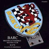 1950-60's BARC/BRITISH AUTOMOBILE RACING CLUB 会員用カーバッジ K1678