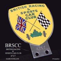 1950-60's BRSCC/BRITISH RACING & SPORTS CAR CLUB 会員用カーバッジ 4717