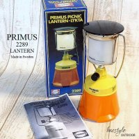 <img class='new_mark_img1' src='https://img.shop-pro.jp/img/new/icons13.gif' style='border:none;display:inline;margin:0px;padding:0px;width:auto;' />Vintage Primus 2289 Picnic Lantern/プリムス ガスランタン 箱付 デッドストック未使用 キャンプ