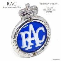 1960's RAC-Royal Automobile Club- グリルバッジ オリジナルフィティング付属