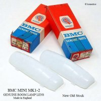 <img class='new_mark_img1' src='https://img.shop-pro.jp/img/new/icons13.gif' style='border:none;display:inline;margin:0px;padding:0px;width:auto;' />1960's BMC MINI MK1-2 GENUINE ROOM LAMP LENS/ミニ MK1-2 オリジナル ルームランプレンズ デッドストック BOX