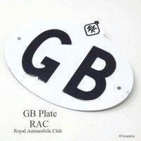 1950-60's 英国 GBプレート RAC オリジナル B
