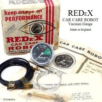 <img class='new_mark_img1' src='https://img.shop-pro.jp/img/new/icons13.gif' style='border:none;display:inline;margin:0px;padding:0px;width:auto;' />REDEX CAR CARE ROBOT VACUUM GAUGE/レデックス バキュームゲージ デッドストック BOX