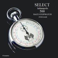 VINTAGE SELECT INDIANAPOLIS 500 RACE STOP WATCH/インディ500 レース ストップウォッチ