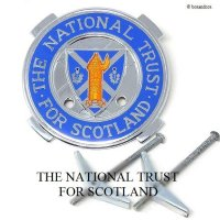 <img class='new_mark_img1' src='https://img.shop-pro.jp/img/new/icons13.gif' style='border:none;display:inline;margin:0px;padding:0px;width:auto;' />THE NATIONAL TRUST FOR SCOTLAND/ナショナルトラスト スコットランド カーグリルバッジ クロス