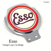 <img class='new_mark_img1' src='https://img.shop-pro.jp/img/new/icons13.gif' style='border:none;display:inline;margin:0px;padding:0px;width:auto;' />Esso Vintage Logo Car Badge/エッソ ビンテージロゴ カーバッジ