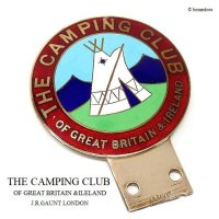 <img class='new_mark_img1' src='https://img.shop-pro.jp/img/new/icons13.gif' style='border:none;display:inline;margin:0px;padding:0px;width:auto;' />当時物 THE CAMPING CLUB OF GREAT BRITAIN カーバッジ J.R.GAUNT製