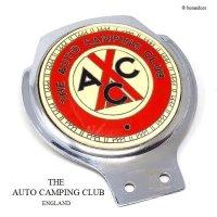 当時物 THE AUTO CAMPING CLUB カーバッジ RENAMEL製