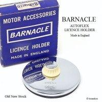 貴重!BARNACLE/バーナクル TAX DISC タックスディスクホルダー SV×IV デッドストック 箱付