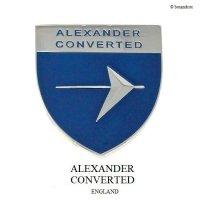 ALEXANDER CONVERTED PLATE BADGE /アレキサンダー コンバーティド プレートバッジ