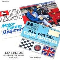 1960's LES LESTON ALL METAL CAR BADGE Austin Healey/レスレストン オースチン・ヒーレー メタルバッジ デッドストック