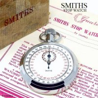 1960's SMITHS/スミス ストップウォッチ 初期 旧ロゴ ギャランティー・BOX