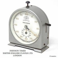 <img class='new_mark_img1' src='https://img.shop-pro.jp/img/new/icons13.gif' style='border:none;display:inline;margin:0px;padding:0px;width:auto;' />希少!JOHNSON TIMER SMITHS ENGLISH CLOCK SYSTEMS/ジョンソンタイマー スミス ビンテージ キッチンタイマー