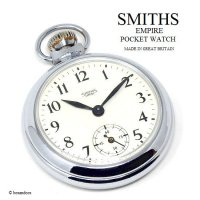 <img class='new_mark_img1' src='https://img.shop-pro.jp/img/new/icons13.gif' style='border:none;display:inline;margin:0px;padding:0px;width:auto;' />1950's SMITHS EMPIRE POCKET WATCH/スミス エンパイア 懐中時計 SV/IV