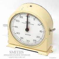 SMITHS ENGLISH CLOCK SYSTEMS/スミス ビンテージ タイマー SECONS-B
