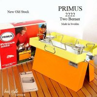 NOS Vintage Primus 2222 Two Berner/プリムス ツーバーナー 箱付 デッドストック未使用 キャンプ