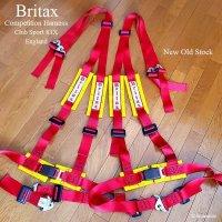 Britax Competition Harness Set NOS/ブリタックス 4×4 ハーネス 赤 デッドストック 2本SET