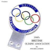 1960's BRITISH OLYMPIC ASSOCIATION/イギリスオリンピック委員会 カーバッジ