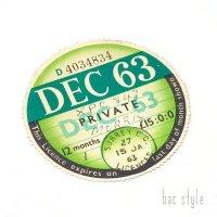 1963年 MORRIS/モーリス TAX DISC タックスディスク(DEC)