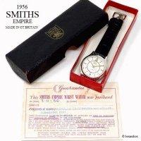 1956年 SMITHS EMPIRE 5 JEWELS/スミス エンパイア 腕時計 オリジナルBOX・ギャランティー