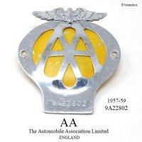 当時物 オリジナル AA グリル バッジ 9A22802 (1957-1959)