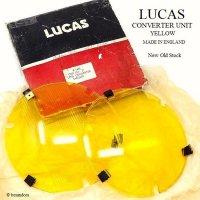 LUCAS CONVERTER UNIT YELLOW/ルーカス コンバーター ヘッドライトカバー デッドストック オリジナルBOX