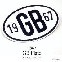 英国 1967 GBプレート 未使用