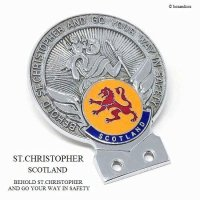 1960's ST.CHRISTOPHER SCOTLAND/セント・クリストファー スコットランド カー バッジ