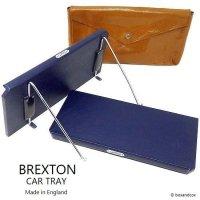 貴重!1950-60's 英国 BREXTON CAR TRAY SET/ブレクストン カートレイ 2枚セット 収納ケース付 ニアデッド
