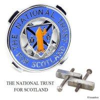 THE NATIONAL TRUST FOR SCOTLAND/ナショナルトラスト スコットランド カーグリルバッジ クロス