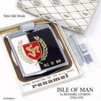 ISLE OF MAN by RENAMEL LONDON /マン島 グリルバッジ デッドストック オリジナルBOX 完品