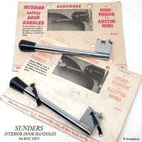 1960'S SAUNDERS INTERIOR safety DOOR HANDLES/サンダース ドア インナーハンドルセット デッドストック未使用