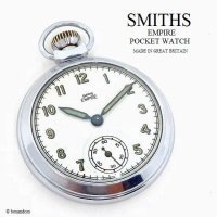 1950's SMITHS EMPIRE POCKET WATCH/スミス エンパイア 懐中時計 SV/GN