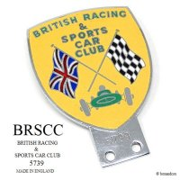 1950-60's BRSCC/BRITISH RACING & SPORTS CAR CLUB 会員用カーバッジ NO.5739