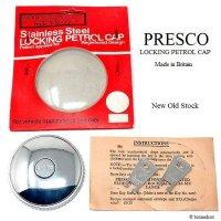 NOS PRESCO LOCKING PETROL CAP/プレスコ ガスキャップ MINI用 etc デットストック オリジナルパッケージ