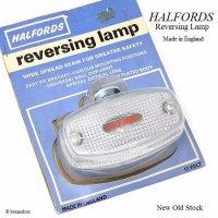 NOS HALFORDS REVERSING LAMP/ハルフォード リバーシングランプ デッドストック パッケージ未開封