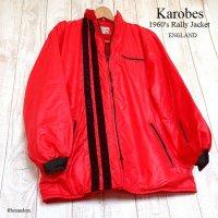 NOS 1960's Karobes Vintage Rally Jacket/カロべス ビンテージ ラリージャケット デッドストック未使用