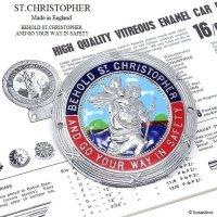 1960's ST.CHRISTOPHER GRILL BADGE/セントクリストファー グリルバッジ フィティング付
