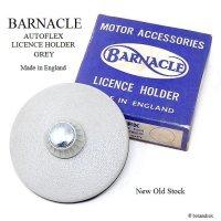 NOS BARNACLE TAX DISC HOLDER/バーナクル タックスディスクホルダー GREY デッドストック 箱付