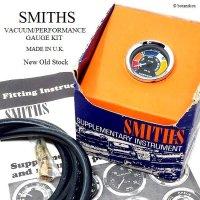 NOS SMITHS VACUUM/PERFORMANCE GAUGE KIT/スミス バキュームゲージ キット デッドストック BOX