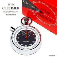 1970's CLETIMER STOP WATCH by CLEBAR WATCH Co/クレバー クレタイマー ストップウォッチ BOX付 ミントコンディション