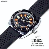 1977年 Vintage TIMEX  DIVERS DATE/英国 ビンテージ タイメックス ダイバーズ デイト 腕時計