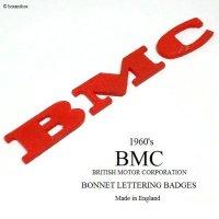 1960's BMC BONNET LETTERING BADGE/レタリングバッジ
