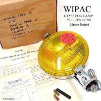 NOS 1960's WIPAC GT562 FOG LAMP YELLOW LENS/ワイパック 562 フォグランプ イエローレンズ デッドストック