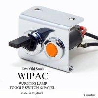 NOS WIPAC WARNING & SWITCH PANEL SET/ワイパック ワーニング & スイッチパネルセット デッドストック