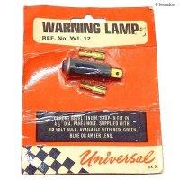 NOS Universal WARNING LAMP/ユニバーサル ワーニングランプ デッドストック パッケージ未開封