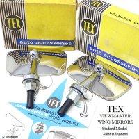 NOS TEX VIEWMASTER WING MIRRORS Standard Model/テックス ビューマスター ウイングミラー スタンダードモデル デッドストック BOX
